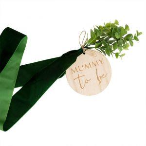 Sjerp Velvet Mummy to Be Botanical Baby Ginger Ray