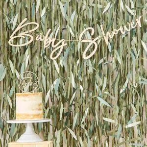Houten Slinger Babyshower Botanical Baby Ginger Ray