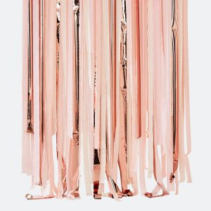 Streamer backdrop roze en rosé Mix It Up Ginger Ray