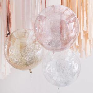 Orb ballonnen Metallic Glitters Mix it Up (3st) Ginger Ray