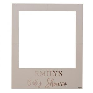 Fotoframe met stickers Baby in Bloom Ginger Ray