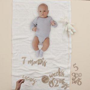 Baby Milestone pakket Baby in Bloom Ginger Ray