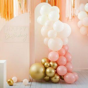 Ballonnenboog Gold & Peach Peach Party Ginger Ray