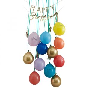 Decoratie kit Birthday Surpirse Mix it Up Brights Ginger Ray
