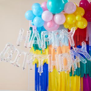 Ballonnenslinger Happy Birthday Mix it Up Brights Ginger Ray