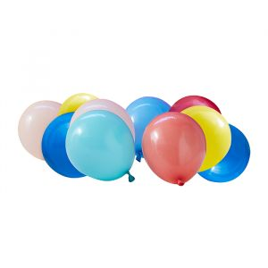 Ballonnen set Mix it Up Brights (40st) Ginger Ray