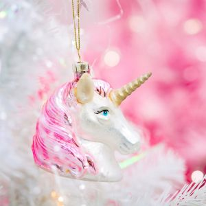 Kersthanger unicorn Sass & Belle