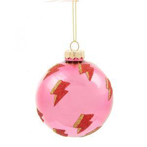 Kerstbal girl power bliksem Sass & Belle