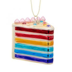 Kersthanger rainbow cake Sass & Belle