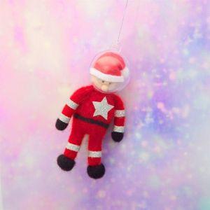 Kersthanger kerstman astronaut vilt Sass & Belle