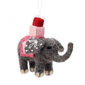 Kersthanger mandala olifant vilt Sass & Belle