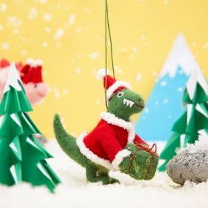 Kersthanger dinosaurus vilt Sass & Belle