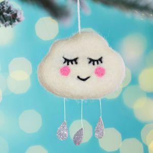 Kersthanger sweet dreams wolkje Sass & Belle