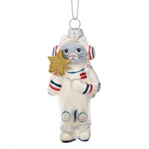 Kersthanger astronaut Kat met gouden ster Sass & Belle