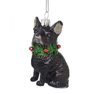 Kersthanger bulldog Sass & Belle