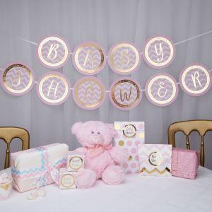 Babyshower slinger Pattern Works Pink