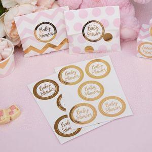 Stickers Babyshower Pattern Works (25st)