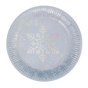 Borden Iridescent sneeuwvlok (8st)