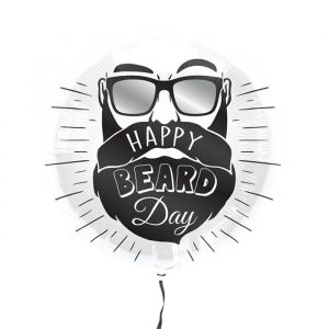 Folieballon Happy Beard Day
