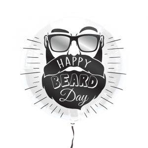 Folieballon Happy Beard Day