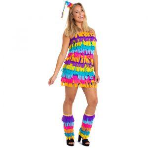 Piñata kostuum dames