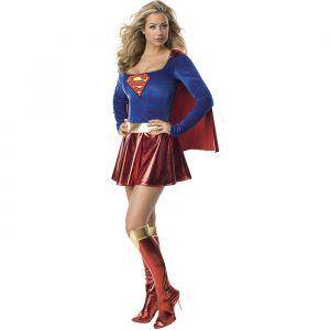 Supergirl kostuum dames