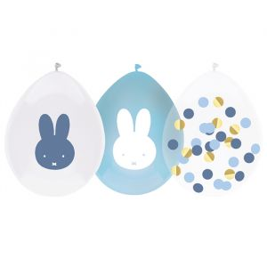 Ballonnen Nijntje blauw (5st)