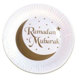 Borden Ramadan Mubarak goud (8st)