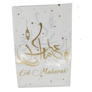 Tafelkleed Eid Mubarak goud 120x180cm