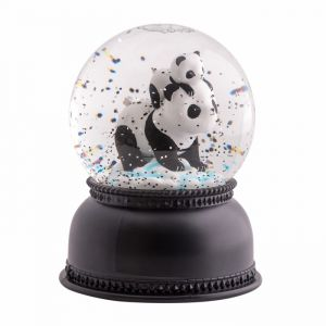 Snowglobe lamp Panda A Little Lovely Company