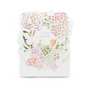 Bedankdoosjes Floral (10st)