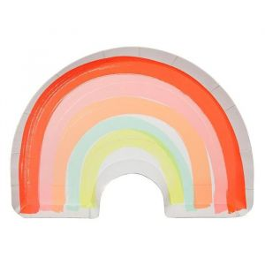 Bordjes Regenboog (12st) Meri Meri