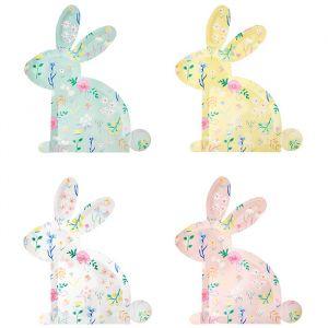 Borden Wildflower Bunny (12st) Meri Meri