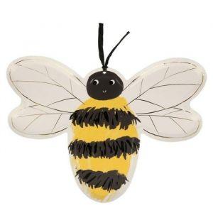 Bordjes bijen Woodland Adventure (8st) Meri Meri