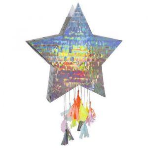 Pinata Ster 40cm holografisch Meri Meri