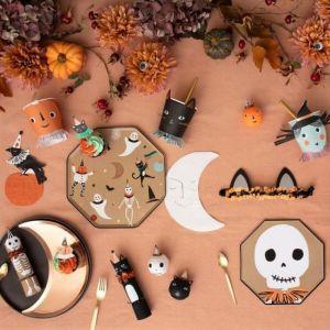 Borden maan copper Vintage Halloween (8st) Meri Meri
