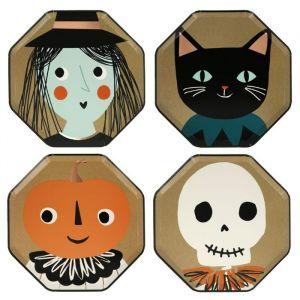 Bordjes Vintage Halloween (8st) Meri Meri
