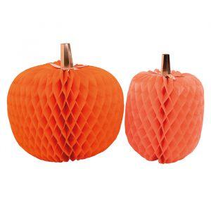 Honeycombs Pumpkins (2st) Meri Meri