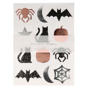 Stickers Halloween ecoglitter Meri Meri
