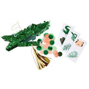 Mini pinata's krokodillen Go Wild (3st) Meri Meri
