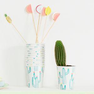 Bekertjes Cactus (12st) Meri Meri