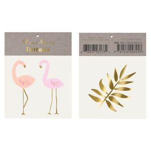 Plaktatoos Flamingo Meri Meri