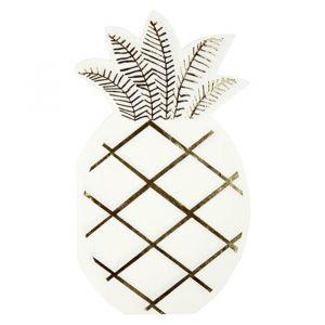 Servetten ananas Tropical (16st) Meri Meri