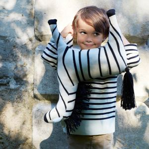 Grote knuffel Zebra Ray Meri Meri