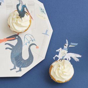 Cupcake Kit Dragon Knights Meri Meri