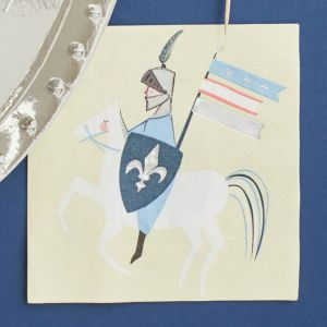 Servetten Dragon Knights (16st) Meri Meri