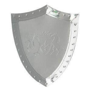 Borden Schild Zilver Dragon Knights (8st) Meri Meri
