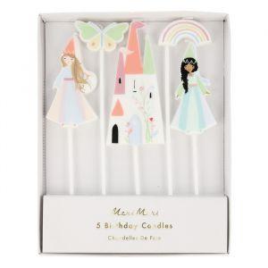 Taartkaarsjes Magical Princess Meri Meri