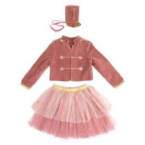 Verkleedset Notenkraker roze (3-4 jaar) Meri Meri