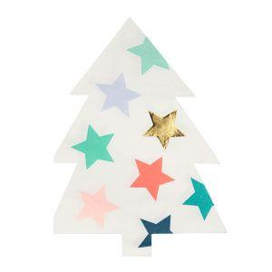 Servetten Patterned Christmas (16st) Meri Meri